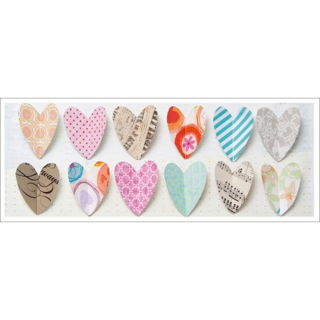 Blahoželanie Paper hearts
